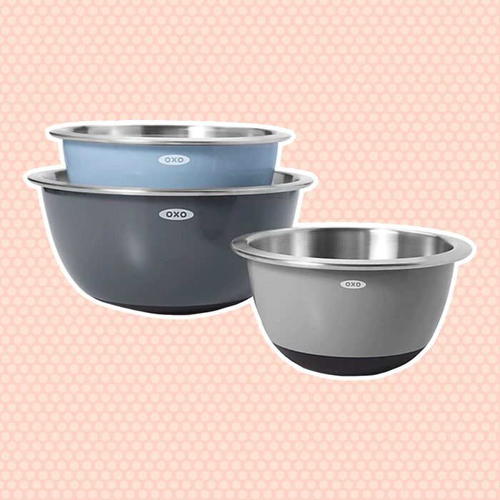 OXO 3-Piece Stainless Steel Mixing Bowl Set