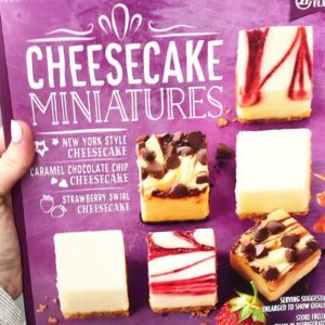 Sam's Club Is Selling a 63-Count Sampler Pack of Mini Cheesecakes