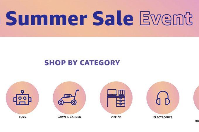 summer sale-amazon