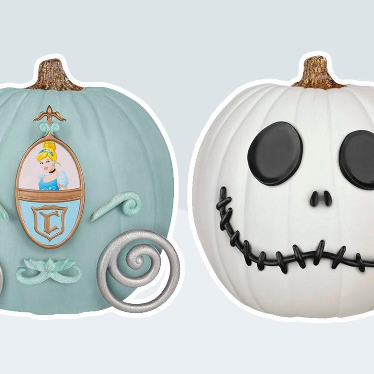 Disney Pumpkin Push-In Decorating Kit from Target
