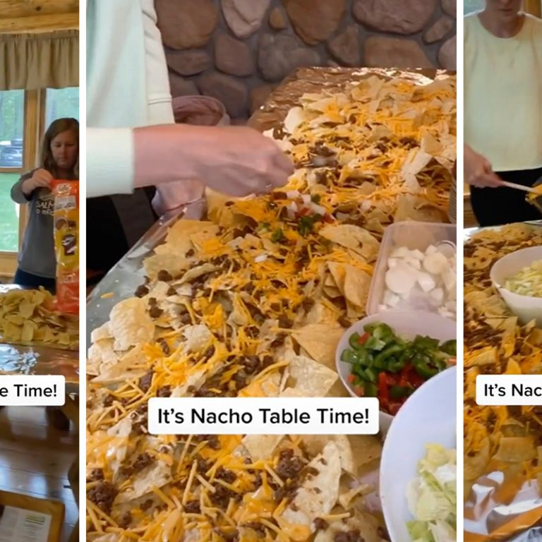TikTok Nacho Table trend
