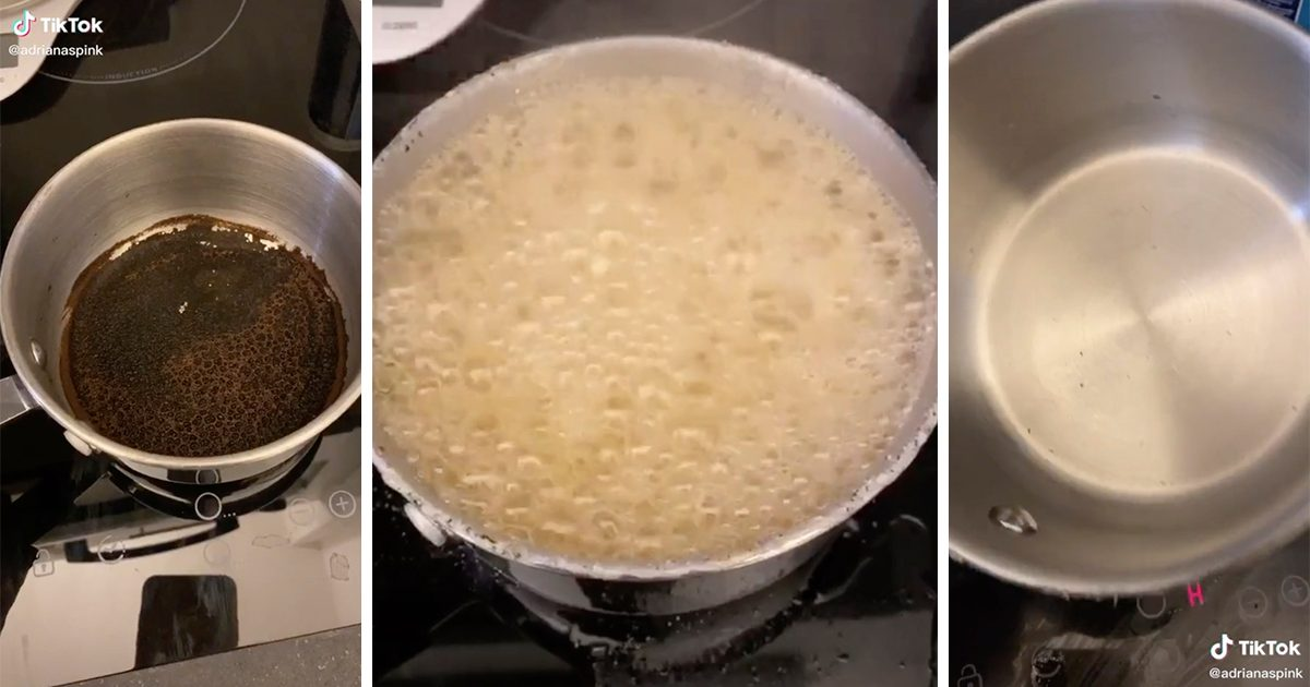 People Are Making Their Pots and Pans Look BRAND-NEW with This Viral Trick