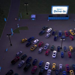 Walmart Is Turning 160 of Its Parking Lots into Drive-In Movie Theaters