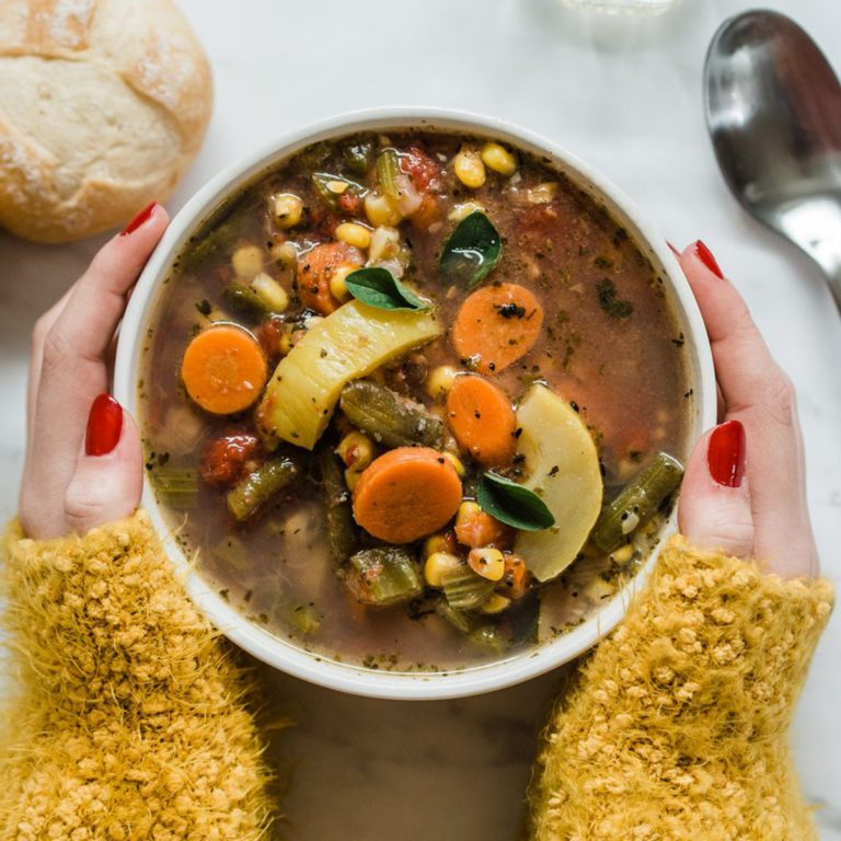 Spoonful of Comfort Harvest Vegetable Soup