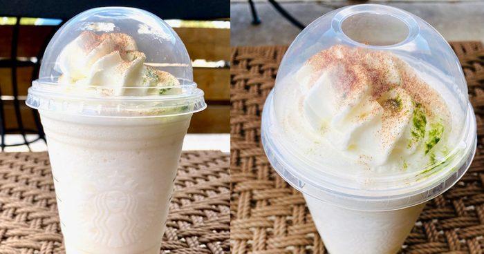 Apple Jacks Frappuccino at Starbucks