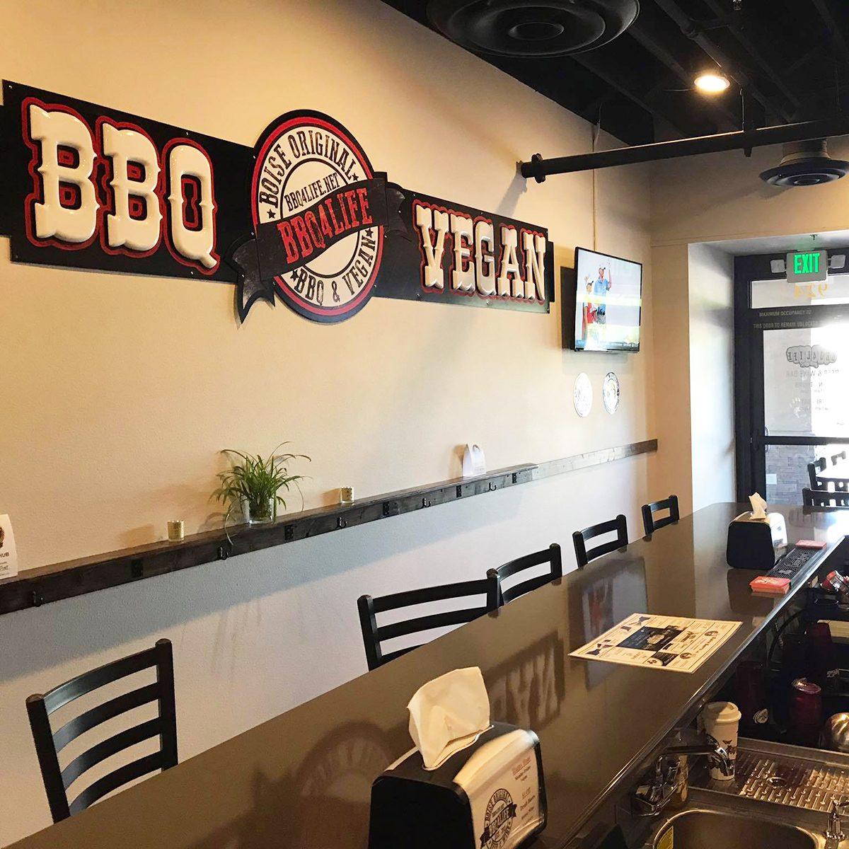 Best vegetarian and vegan restaurant in Idaho BBQ 4 Life