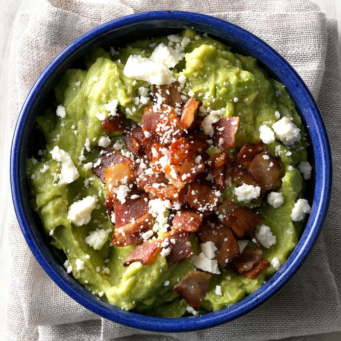 Bacon Guacamole with Cotija Cheese