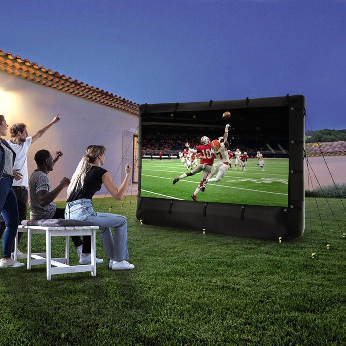 Bauhn Inflatable Outdoor Projection Movie Screen