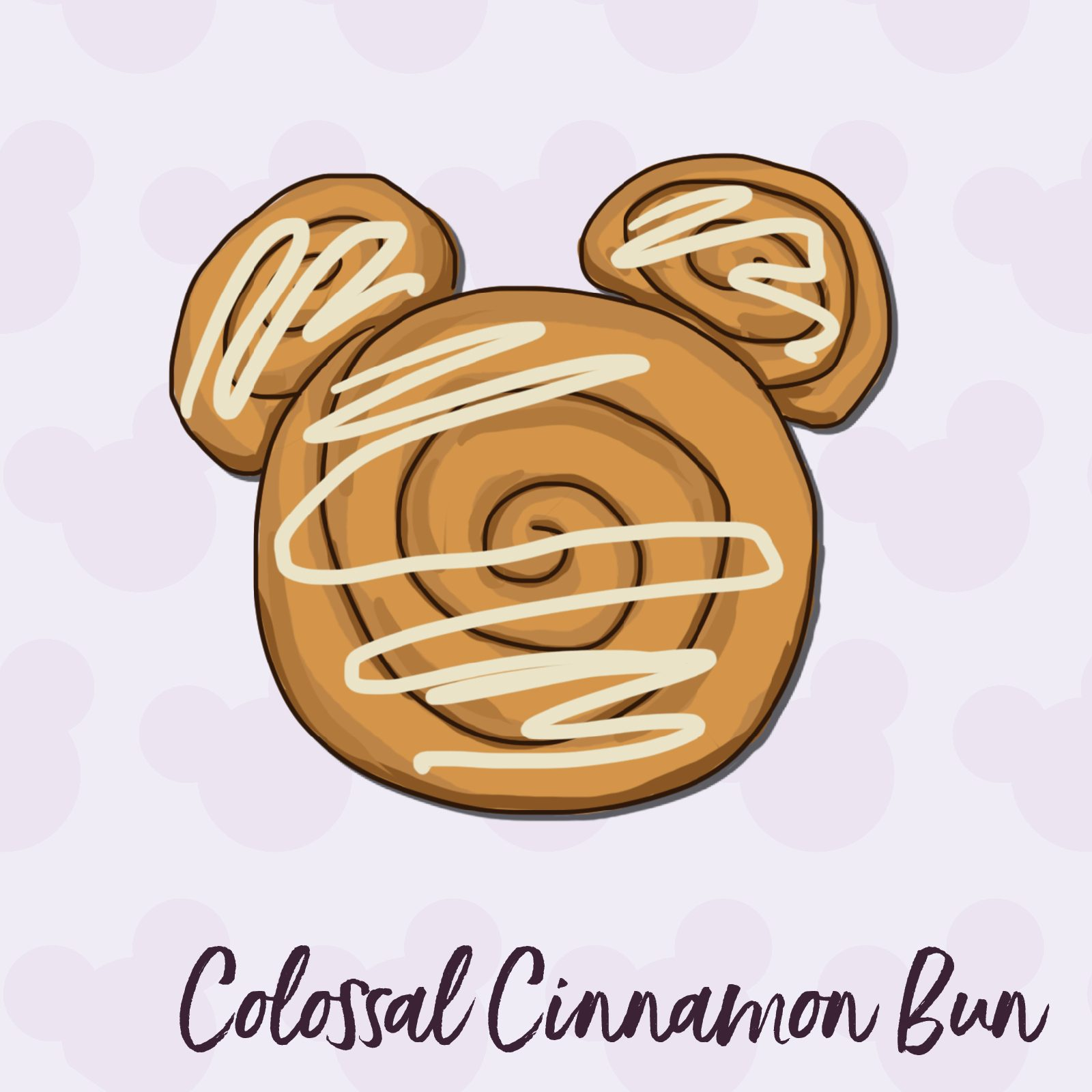 Colossal Cinnamon Bun disney