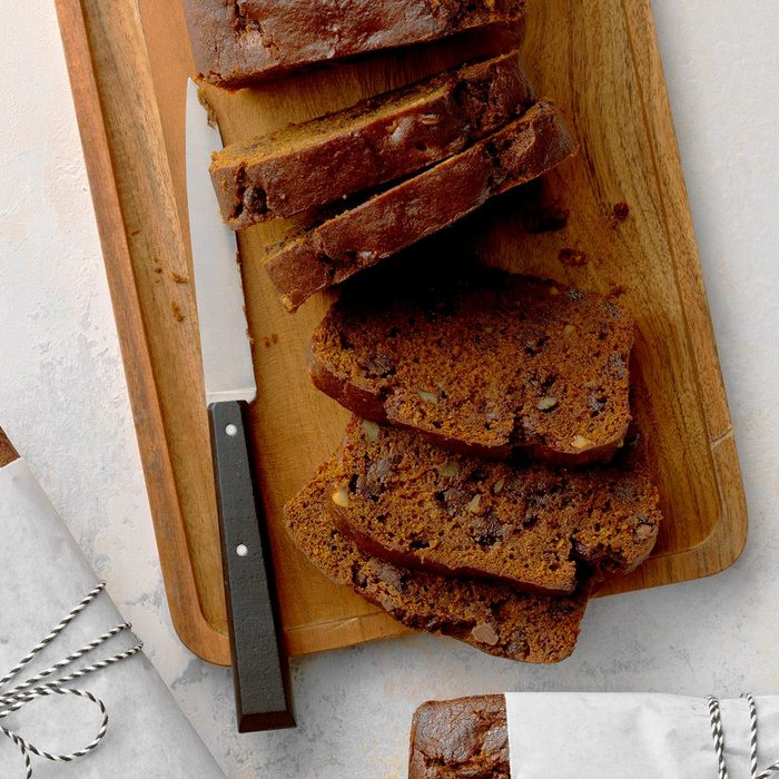 Double Chocolate Pumpkin Bread