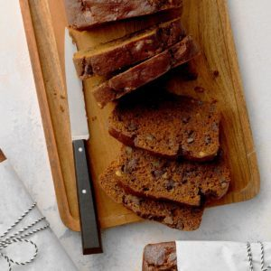 Double Chocolate Pumpkin Bread