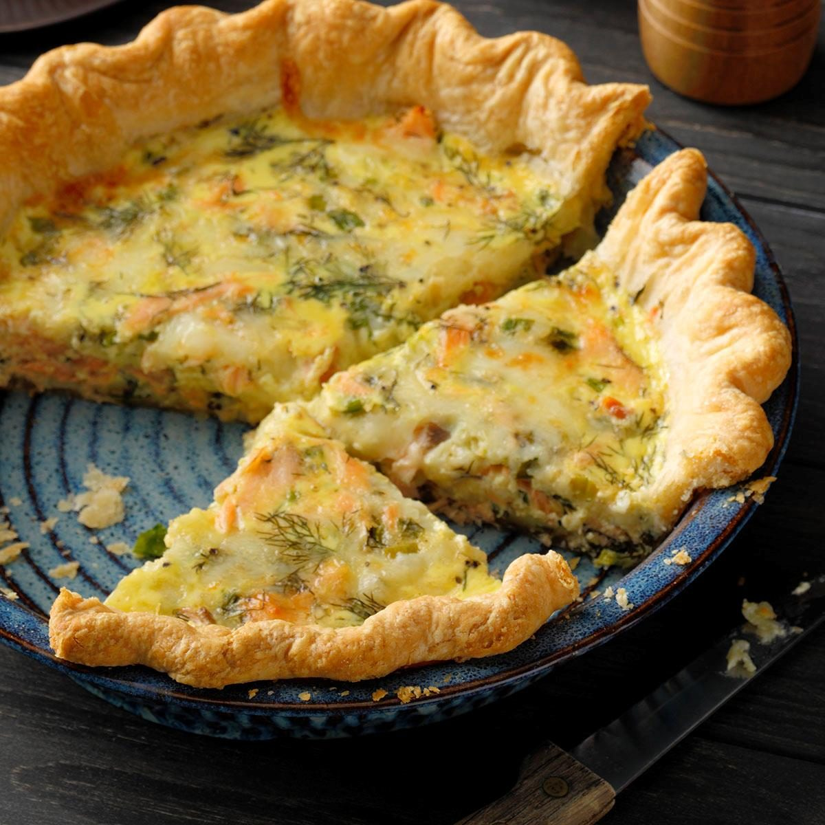 2nd Place: Finnish Salmon and Dill Pie