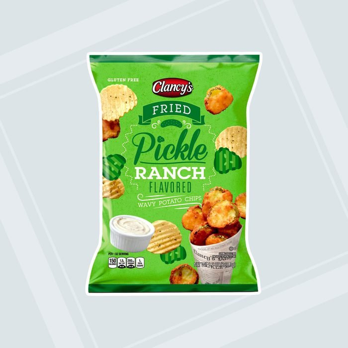 Fried Pickle Ranch Potato Chips