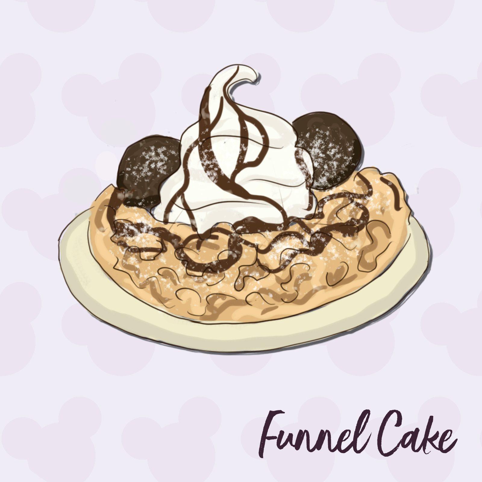 Funnel Cake disney