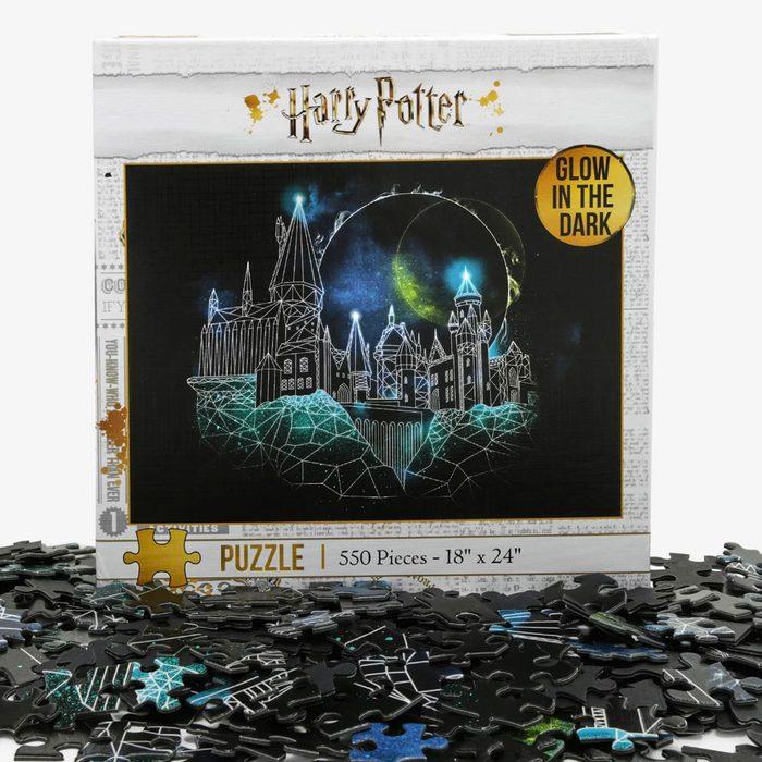Hogwarts Glow-in-the-Dark Puzzle