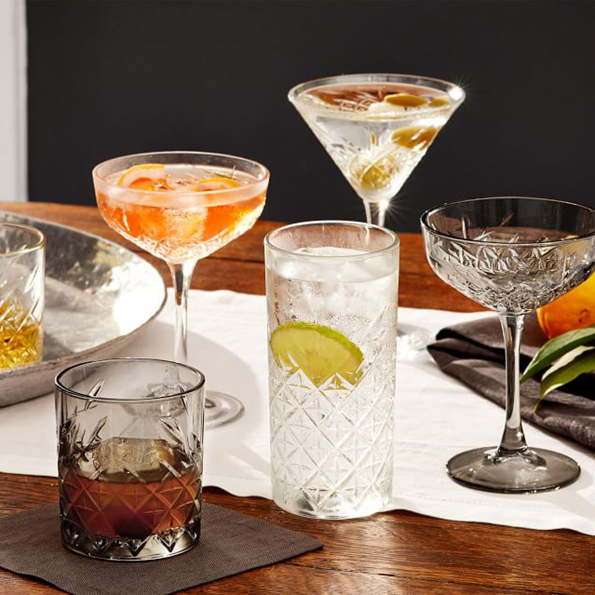 The Best Cocktail Accessories for a Vintage Bar Cart