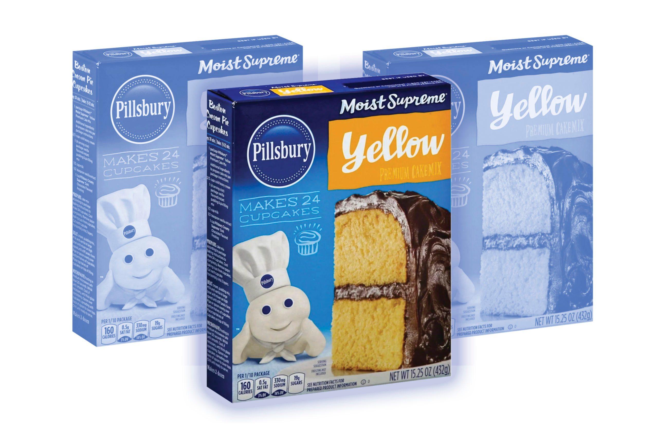 Pillsbury Moist Supreme Classic Yellow Cake Mix - 15.25oz