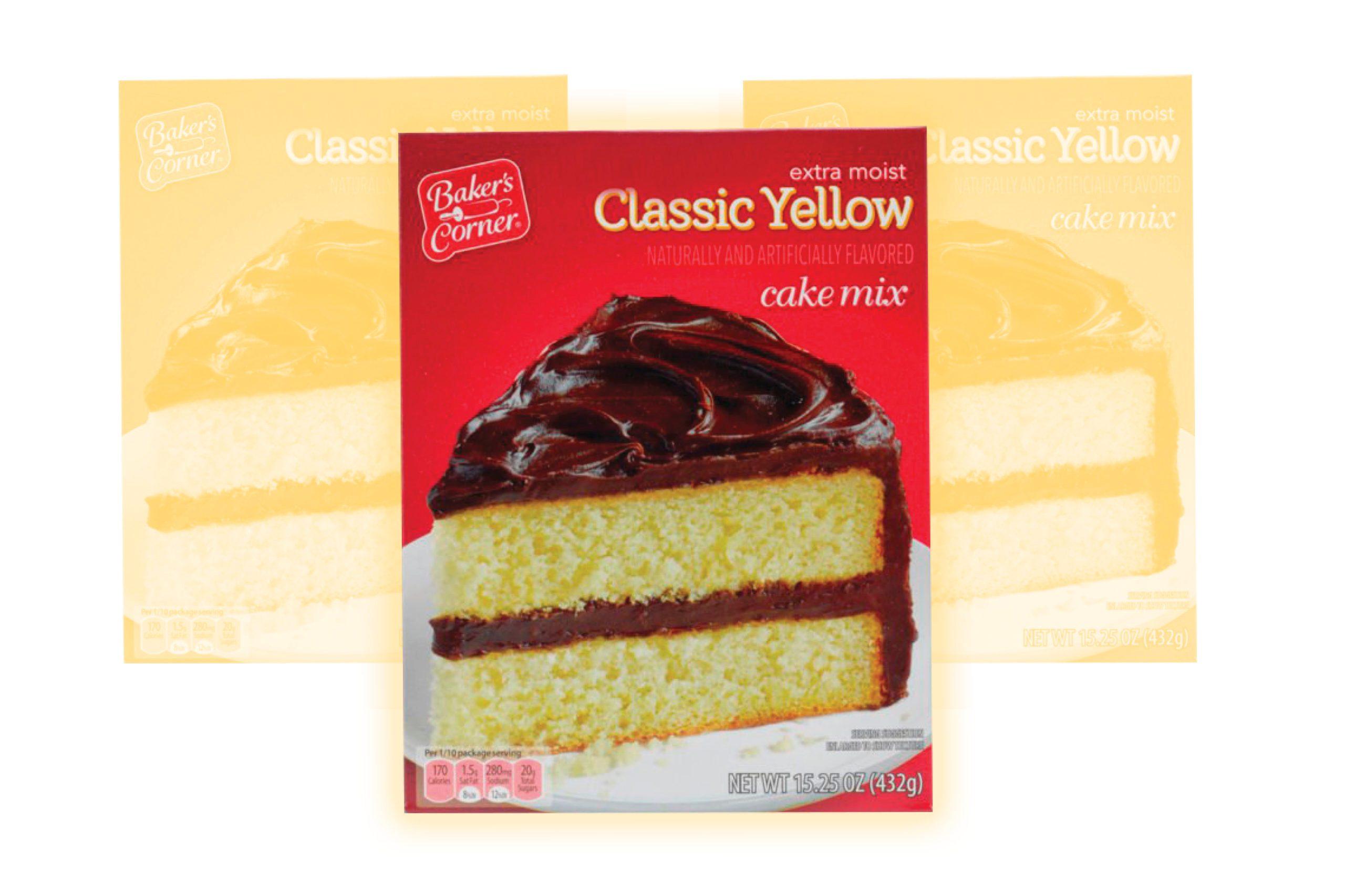 Aldi Baker's Corner Classic Yellow cake mix