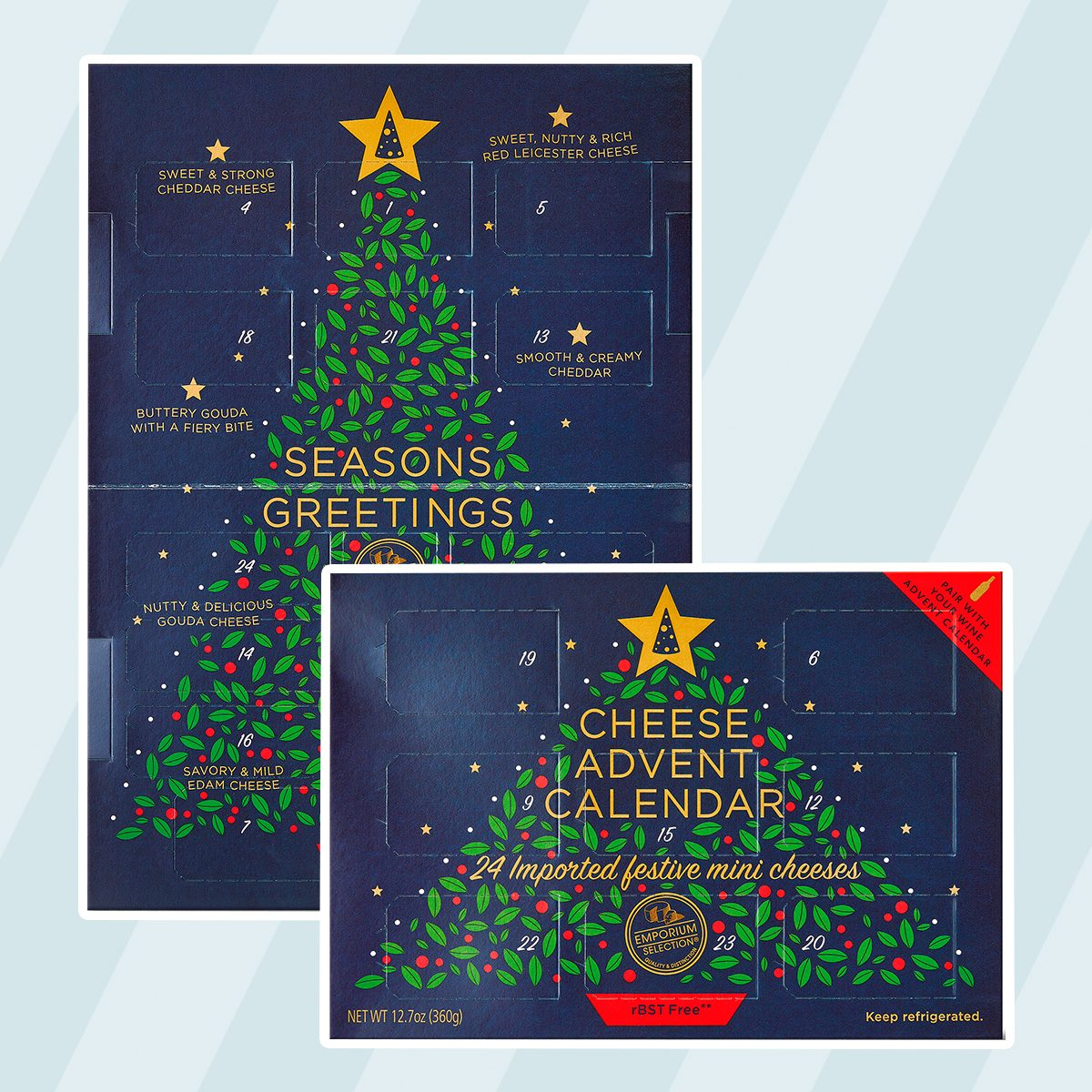 Cheese advent Calendar from Aldi