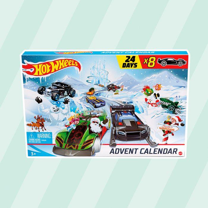 Hot Wheels advent calendar at Aldi