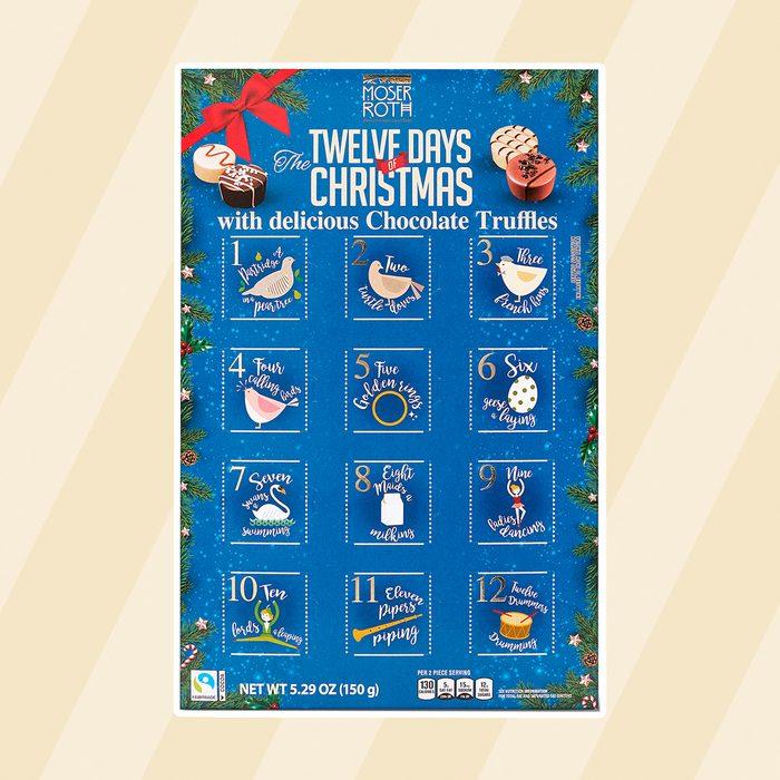 Aldi twelve days of christmas advent calendar