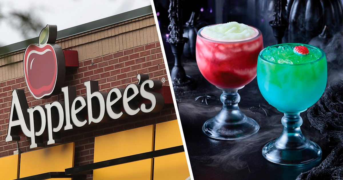 Applebee's Is Serving Two GIANT Halloween Cocktails Right Now