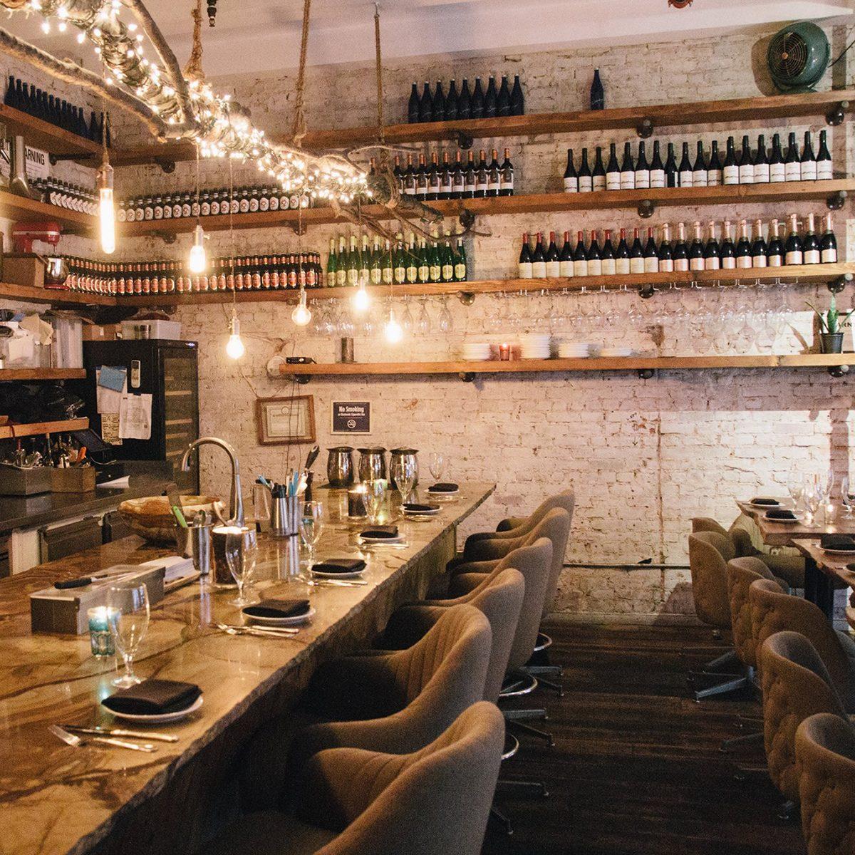 Best vegetarian and vegan restaurant in New York Avant Garden