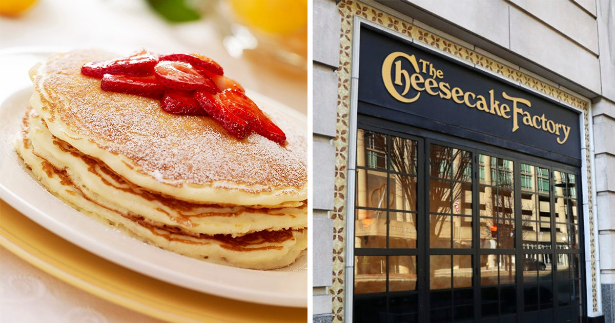 The Cheesecake Factory JUST Released the Official Lemon-Ricotta Pancakes Recipe