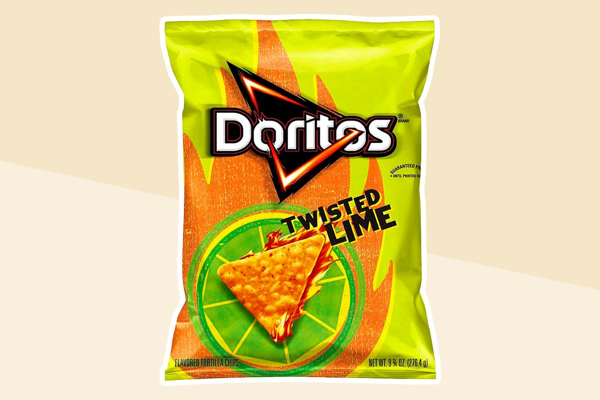 New Twisted Lime Doritos