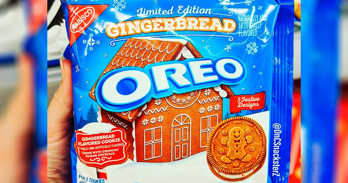 Gingerbread Oreos Are Available RIGHT NOW