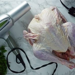 Could a Hairdryer Be the Secret to Your Best-Ever Thanksgiving Turkey?