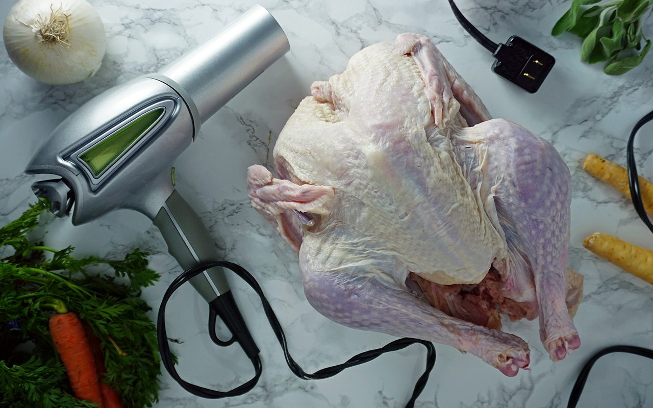Is a Hair Dryer the Secret to a Perfect Thanksgiving Turkey?