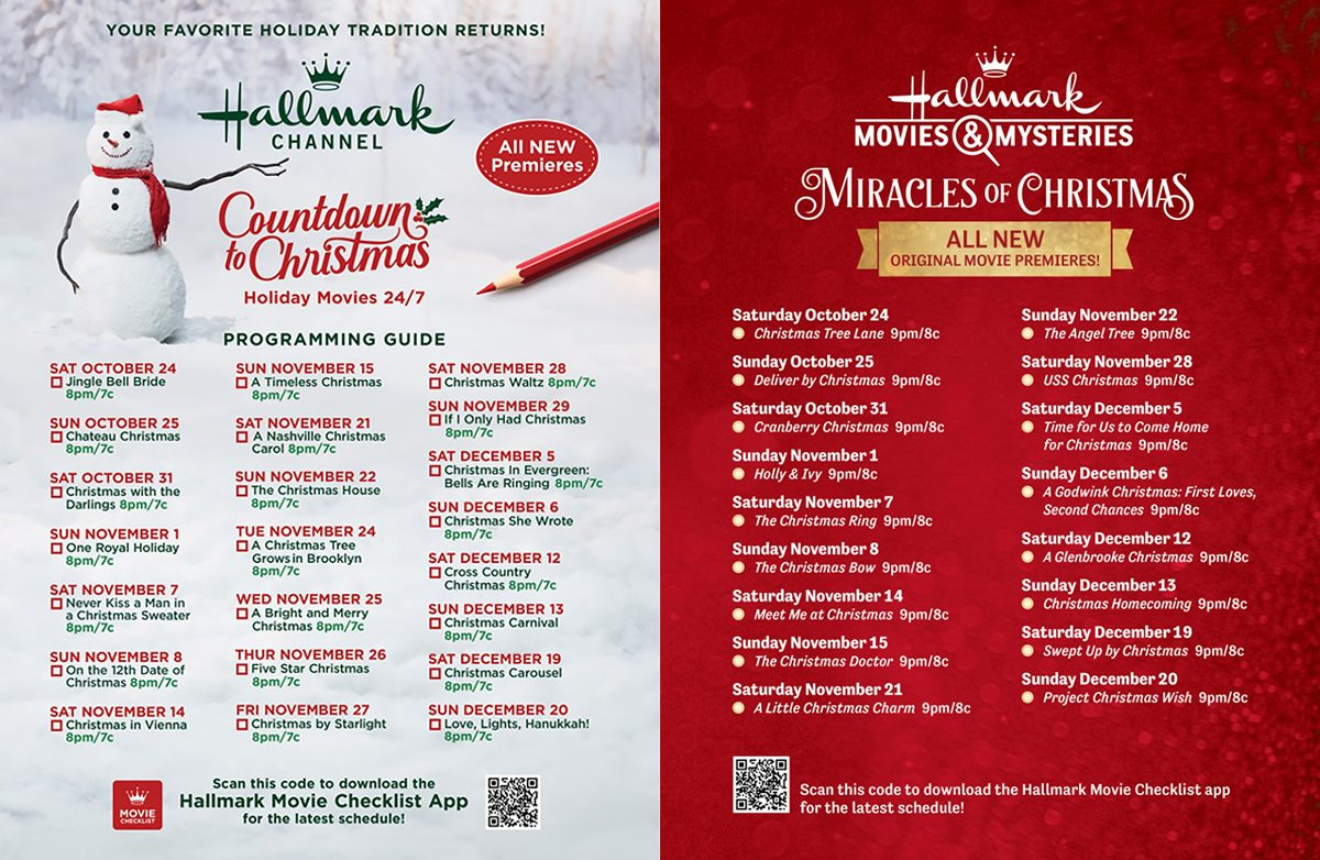 hallmark is premiering 40 new christmas movies in 2020 taste of home hallmark is premiering 40 new christmas