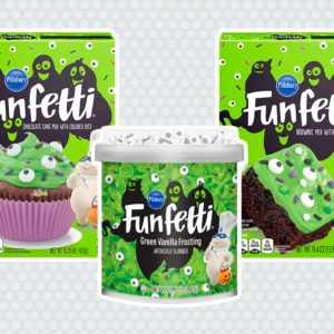 Funfetti Slime Cupcakes Are the PERFECT Spooky-Sweet Halloween Treat