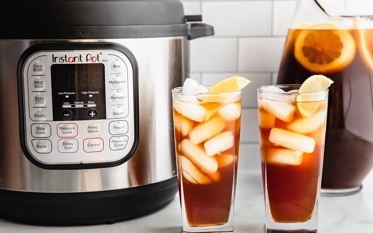 This Instant Pot Iced Tea Is Made with a Secret Ingredient