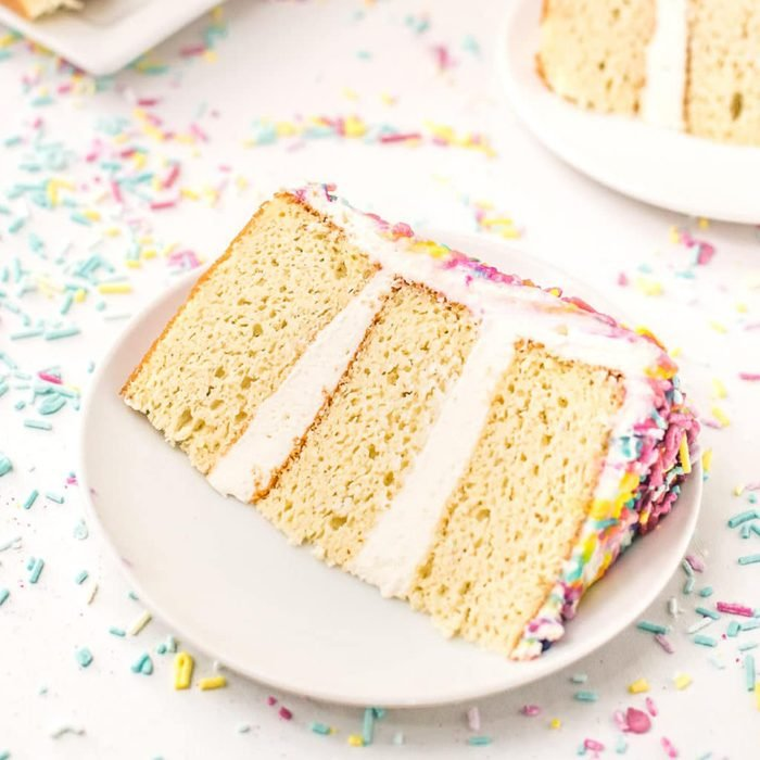 Sugar-Free Birthday Cake
