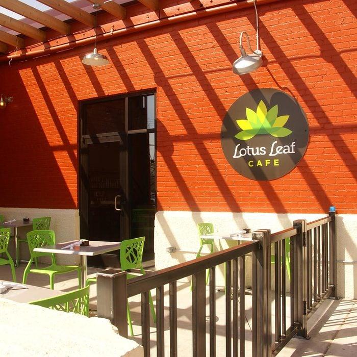 Best vegetarian and vegan restaurant in Kansas Lotus Leaf Cafe