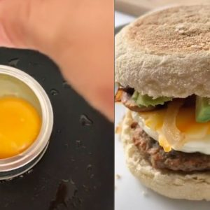 How to Use a Mason Jar Lid to Create the Perfect Egg Sandwich
