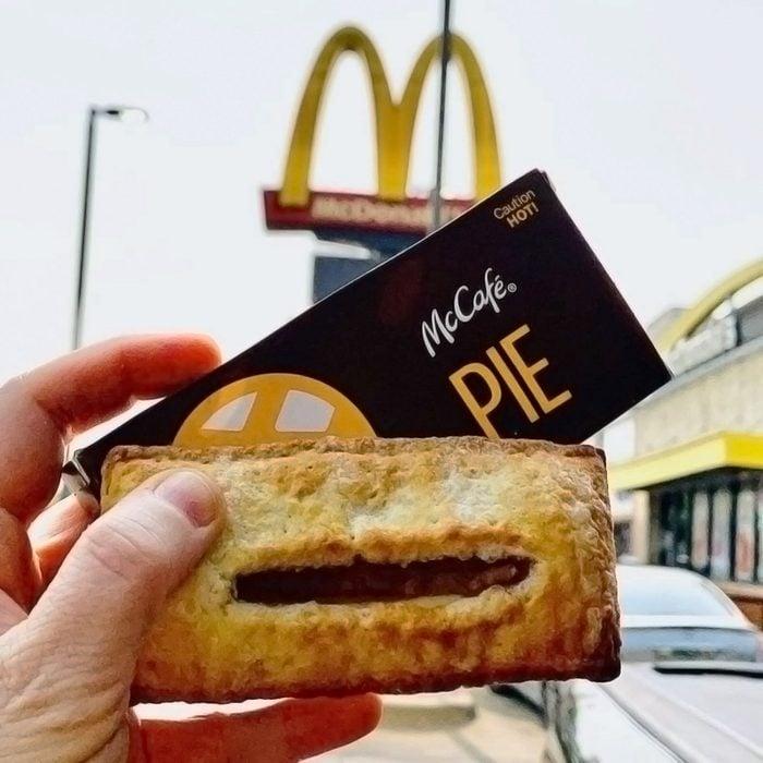 McDonald's Pumpkin Creme pies