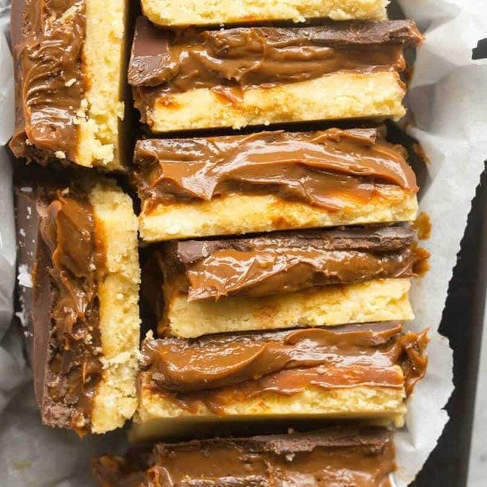 No-Bake Millionaire Shortbread