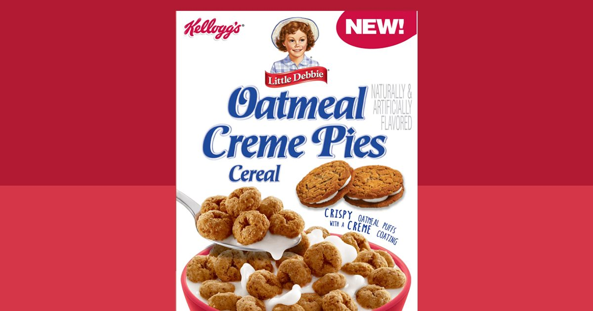 There Will Be A Little Debbie Oatmeal Creme Pies Cereal Taste Of Home