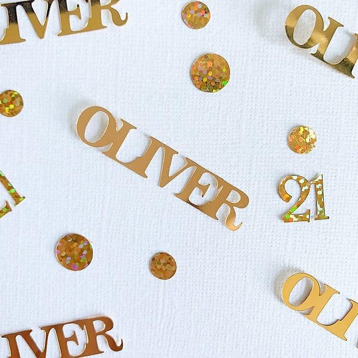Personalised Birthday Confetti