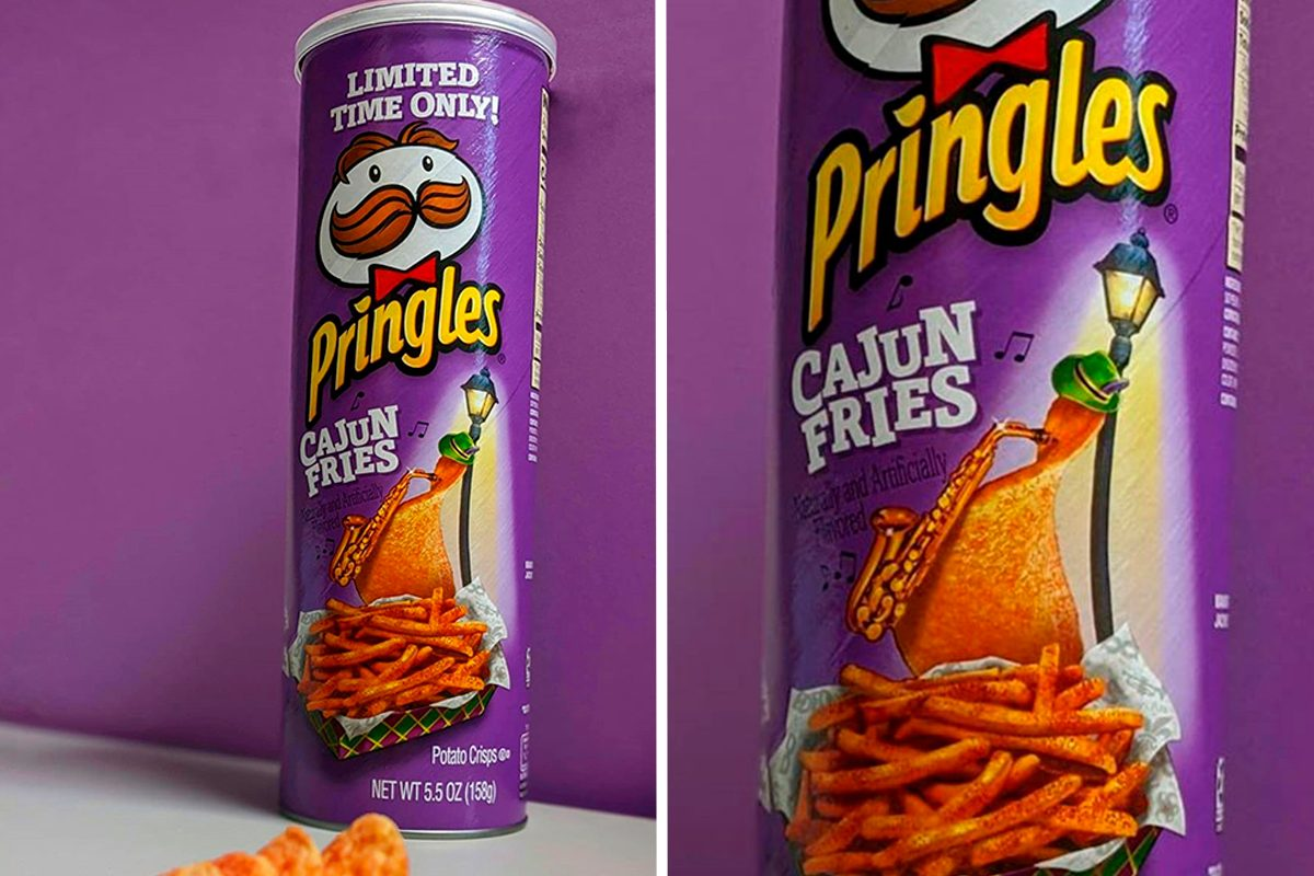 Pringles limited edition cajun fries flavor