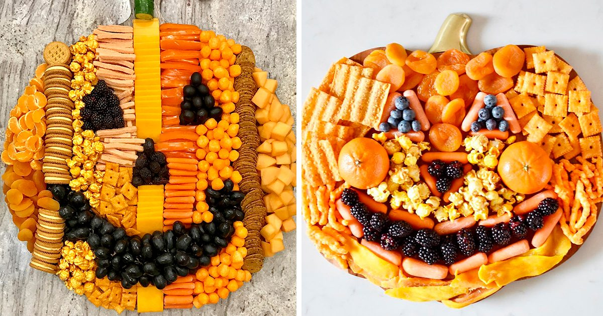 People Are Making PUMPKIN-Shaped Snack Boards—and They're Gourd-geous!