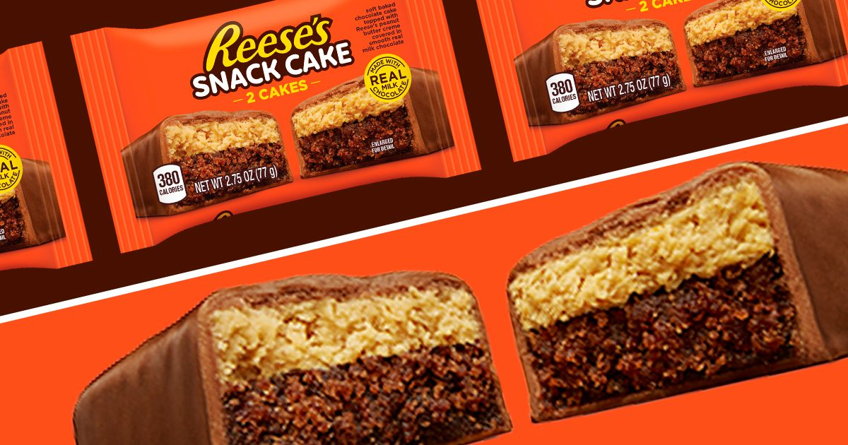 Reese's Is Making Snack Cakes That Are PACKED with Peanut Butter and Chocolate