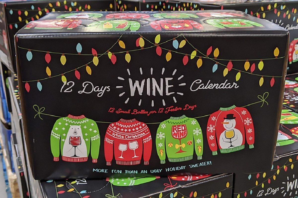 Sam's Club 12 days of wine advent calendar