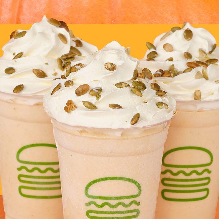 Shake Shack's Pumpkin Shake