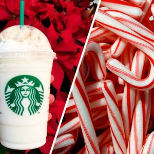 Starbucks Has a CANDY CANE Frappuccino on the Secret Menu—Here's How to Order