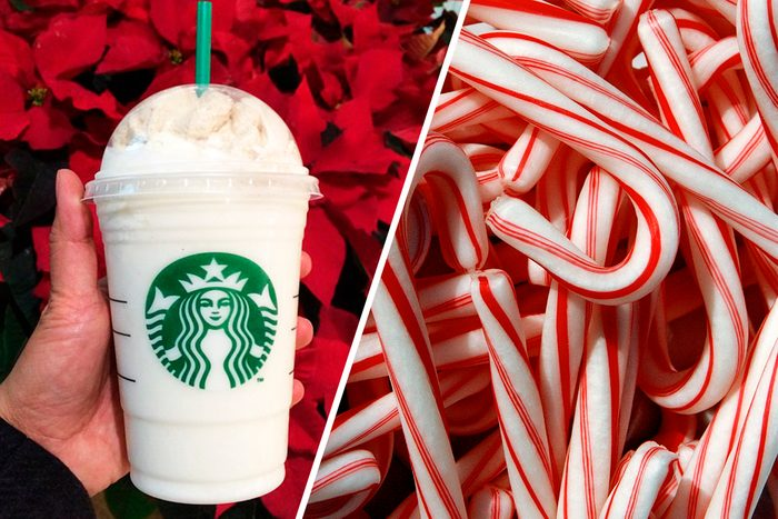 Candy Cane Frappuccino from Starbucks
