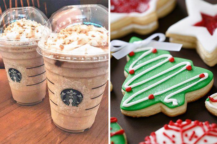Starbucks Secret Menu Christmas Cookie Frappuccino